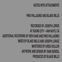 Pino Palladino, Blake Mills – Notes With Attachments