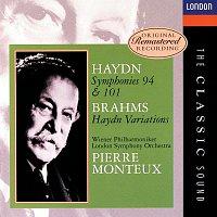 "London Symphony Orchestra, Wiener Philharmoniker, Pierre Monteux – Haydn: Symphonies Nos. 94 & 101; Brahms: ""Haydn"" Variations"