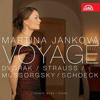 Přední strana obalu CD Voyage. Písňový recitál - Musorgskij, Dvořák, Strauss & Schoeck