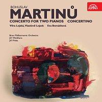 Přední strana obalu CD Martinů: Koncert pro dva klavíry a orchestr, Concertino