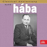 Přední strana obalu CD Classical Anniversary Alois Hába: Smyčcové kvartety...