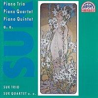 Přední strana obalu CD Suk: Klavírní trio op. 2, Kvartet pro klavír op. 1