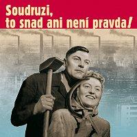 Přední strana obalu CD Soudruzi, to snad ani není pravda
