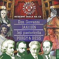 Různí interpreti – Komplet Nebojte se klasiky! (21-24): Don Giovanni, Její pastorkyňa, Jakobín, Porgy a Bess