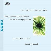 Přední strana obalu CD Bach, C.P. E. Symphonies for Strings