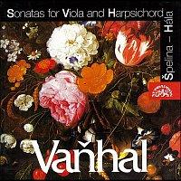 Přední strana obalu CD Vaňhal: Sonáty pro violu a cembalo
