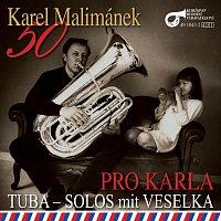 """Přední strana obalu CD K. Malimánek """"50"""" / Pro Karla"""