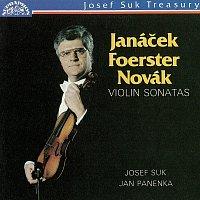 Josef Suk, Jan Panenka – Janáček, Foerster, Novák: Houslové sonáty