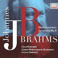 David Oistrach, Česká filharmonie, Antonio Pedrotti – Brahms: Houslový koncert D dur, Symfonie č. 4 e moll