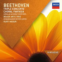 Beaux Arts Trio, Gewandhausorchester Leipzig, Kurt Masur – Beethoven: Triple Concerto; Choral Fantasia; Coriolan & Egmont Overtures