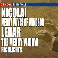 Různí interpreti – Nicolai: Merry Wives of Windsor Highlights - Lehár: The Merry Widow Highlights