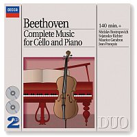 Mstislav Rostropovich, Sviatoslav Richter, Maurice Gendron, Jean Francaix – Beethoven: Complete Music for Cello and Piano
