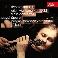 Přední strana obalu CD Korngold, Strauss: Houslové koncerty