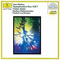 Přední strana obalu CD Sibelius: Symphonies Nos.4 & 7; Valse triste