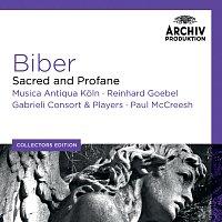 Přední strana obalu CD Biber: Sacred And Profane