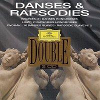Přední strana obalu CD Danses & Rapsodies Hongroises / Danses & Rapsodies Slaves