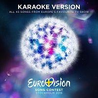 Různí interpreti – Eurovision Song Contest 2016 Stockholm [Karaoke Version]