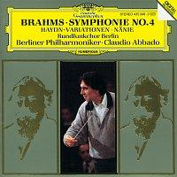 Rundfunkchor Berlin, Dietrich Knothe, Berliner Philharmoniker, Claudio Abbado – Brahms: Symphony No.4 In E Minor, Op. 98; Haydn Variations, Op. 56a; Nanie, Op. 82