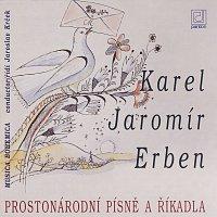 Přední strana obalu CD Prostonárodní písně a říkadla