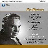"Hans Richter-Haaser, Philharmonia Orchestra & István Kertész – Beethoven: Piano Concerto No. 5, Op. 73 ""Emperor"" & Rondo, Op. 51 No. 1"