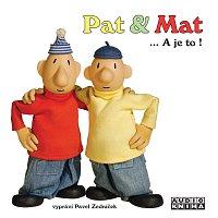 Přední strana obalu CD Pat a Mat ... A je to!