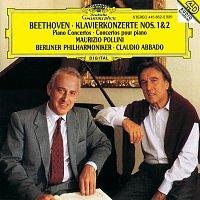 Maurizio Pollini, Berliner Philharmoniker, Claudio Abbado – Beethoven: Piano Concertos Nos.1 & 2