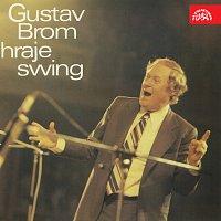 Přední strana obalu CD Gustav Brom hraje swing
