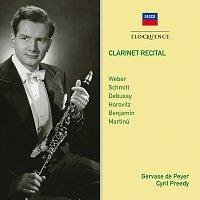 Gervase de Peyer, Cyril Preedy – Clarinet Recital