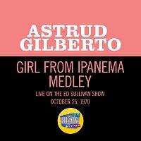 Astrud Gilberto – The Girl From Ipanema/Black Orpheus/Agua De Berber [Medley/Live On The Ed Sullivan Show, October 25, 1970]