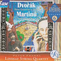 The Lindsays, Péter Frankl – Dvorak, Martinu: Piano Quintets