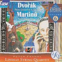 Lindsay String Quartet, Péter Frankl – Dvorak, Martinu: Piano Quintets