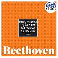 Přední strana obalu CD Beethoven: Smyčcové kvintety, op. 4 , 104