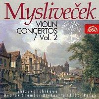 Přední strana obalu CD Mysliveček: Koncerty pro housle II