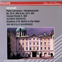 Alfred Brendel, Academy of St. Martin in the Fields, Sir Neville Marriner – Mozart: Piano Concertos Nos. 20 & 24; Concert Rondo, K.382