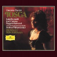 Přední strana obalu CD Puccini: Tosca