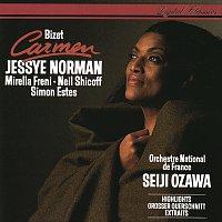 Přední strana obalu CD Bizet: Carmen (Highlights)