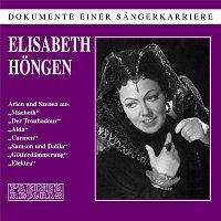 Elisabeth Hongen – Dokumente einer Sangerkarriere - Elisabeth Hongen