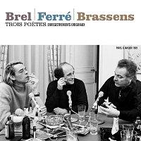 Přední strana obalu CD Trois poetes : Brel - Ferré - Brassens