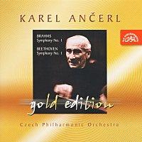 Přední strana obalu CD Ančerl Gold Edition 9. Brahms: Symfonie č. 1 c moll - Beethoven :Symfonie č. 1 C dur