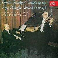 Antonín Moravec, Otakar Vondrovic – Šostakovič: Sonáta, op. 134, Prokofjev: Sonáta č. 2, op. 94 b