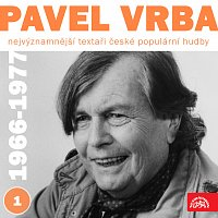 Přední strana obalu CD Nejvýznamnější textaři české populární hudby Pavel Vrba 1 (1966 - 1971)