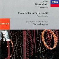 Simon Preston, Concertgebouw Chamber Orchestra – Handel: Water Music; Music For The Royal Fireworks