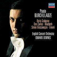 Přední strana obalu CD Mussorgsky & Verdi Arias