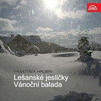 Přední strana obalu CD Hrubín: Lešanské jesličky. Vánoční balada
