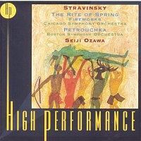 Seiji Ozawa, Igor Stravinsky, Boston Symphony Orchestra, Michael Tilson Thomas – Stravinsky: Petrouchka, The Rite Of Spring, Fireworks