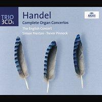 Přední strana obalu CD Handel: The Organ Concertos
