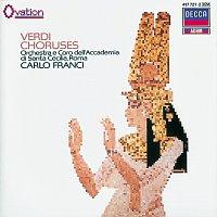 Coro dell'Accademia Nazionale di Santa Cecilia, Gino Nucci, Carlo Franci – Verdi Choruses