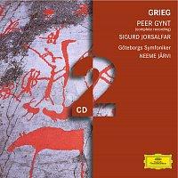 Přední strana obalu CD Grieg: Peer Gynt; Sigurd Jorsalfar