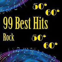 Přední strana obalu CD 99 Best Hits of Rock