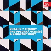 Přední strana obalu CD Ukázky z čítanky pro odborná učiliště a učňovské školy